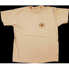 PSO Logo Short-sleeved T-shirt Sand